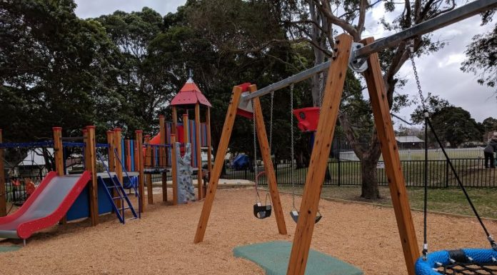 Kingsford Smith Oval Bill Bryan Playground Longueville