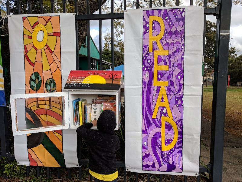 street library rydalmere public school