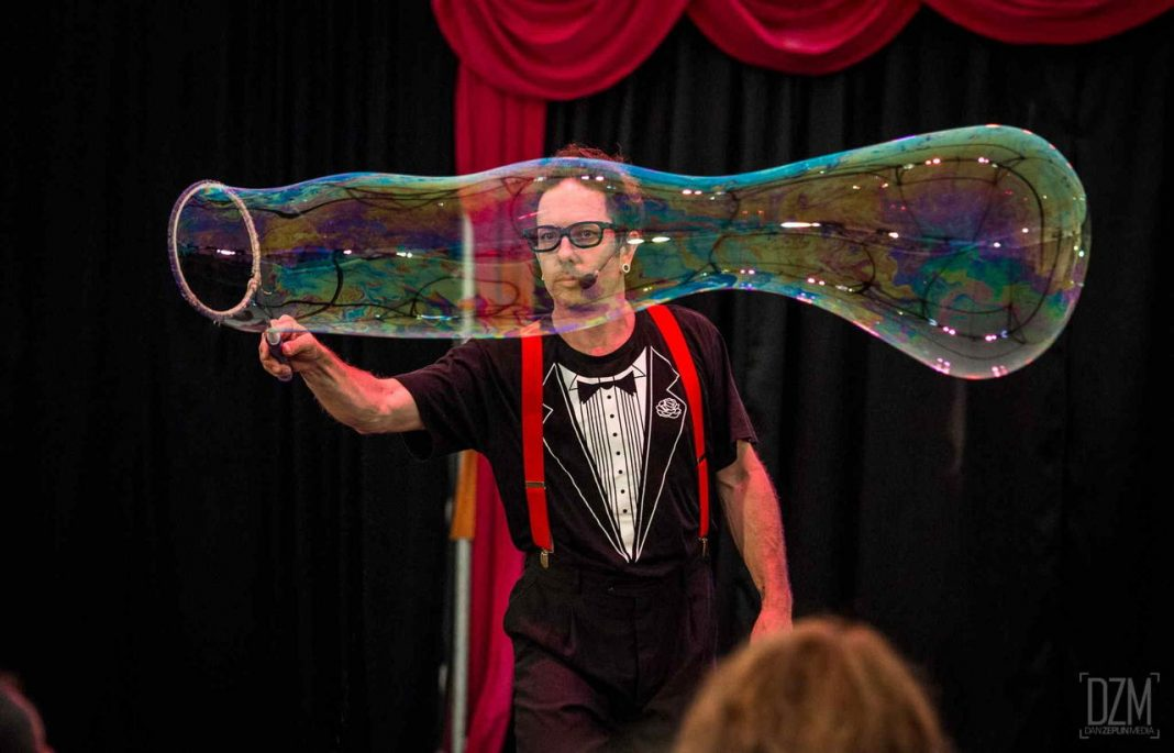 Dr Hubbles Bubbles Spot On Festival Riverside Theatres