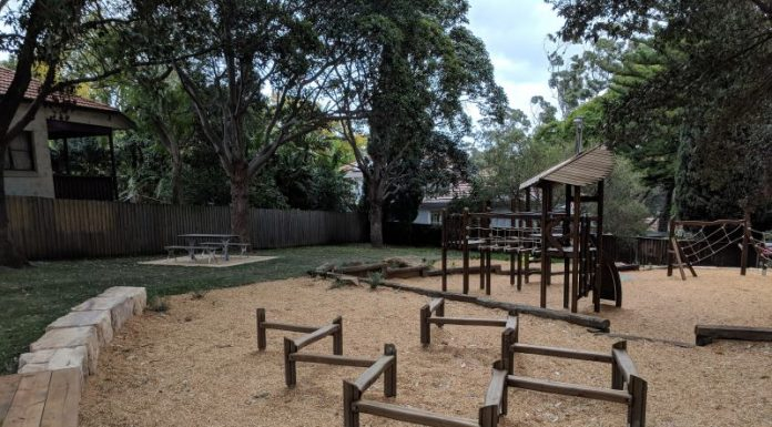 Kimberley Playground Lane Cove