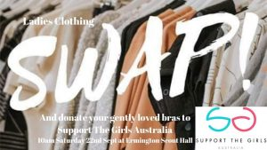 Spring Clothing Swap & Bra Drop for Support the Girls Australia @ 1st Ermington Scout Group | Ermington | New South Wales | Australia