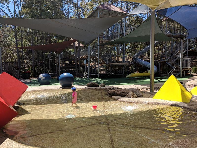 Putney Park Toddler Splash pool
