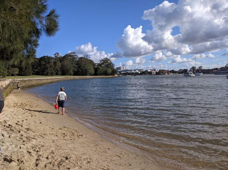 Putney Park beach Putney