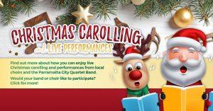 Christmas Carolling & Live Band Performances | Winston Hills @ Winston Hills Mall | Winston Hills | New South Wales | Australia