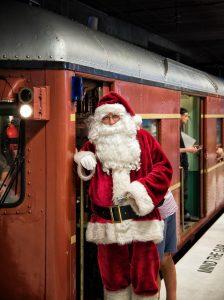 Santa's Vintage Train | Sydney Olympic Park @ Sydney Olympic Park train station | Sydney Olympic Park | New South Wales | Australia