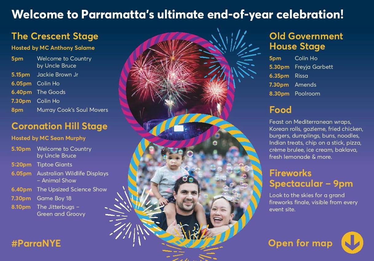 Parramatta New Year's Eve NYE