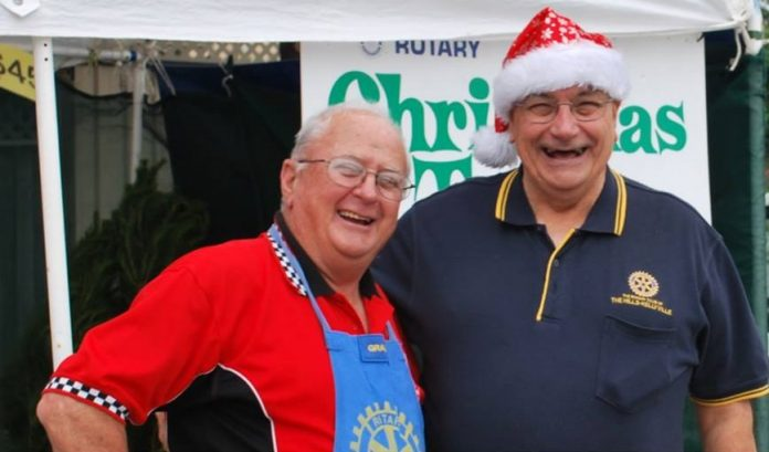 Rotary Club of The Hills Christmas Trees
