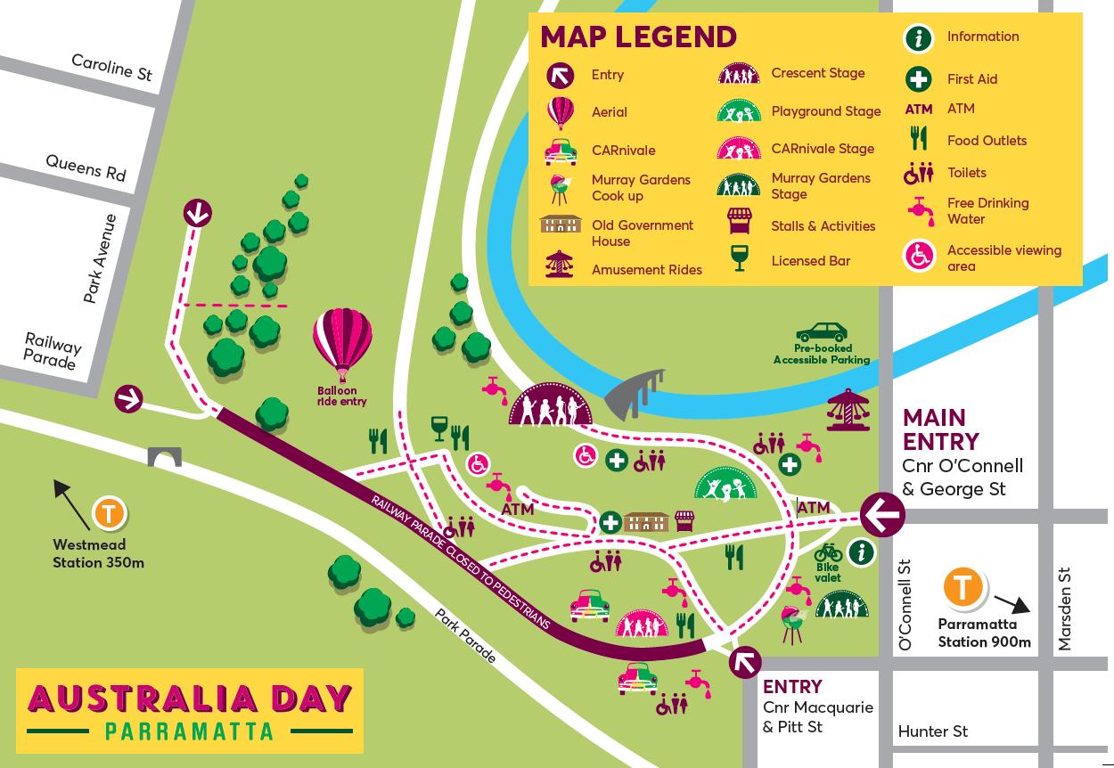 Parramatta's Australia Day 2020