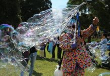 Bubbles Ermington Family Fun Day George Kendall Riverside Park