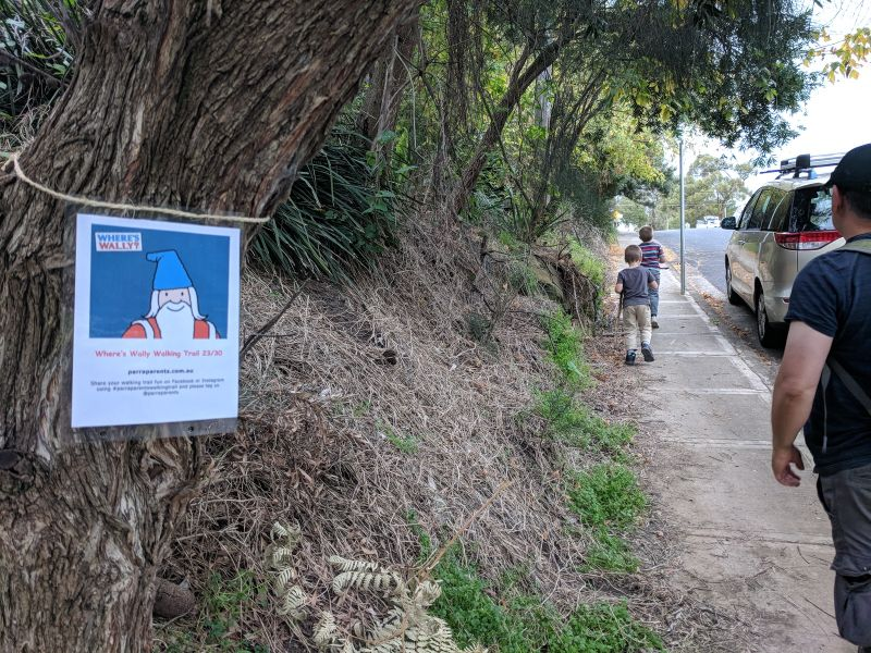 walking trail where's wally north epping ron payne park