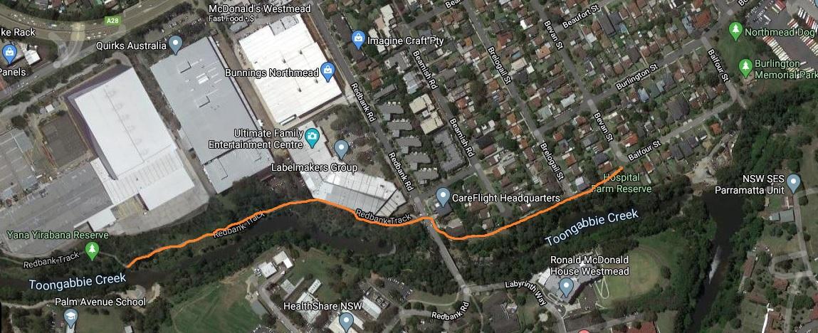 walking trail echidna map