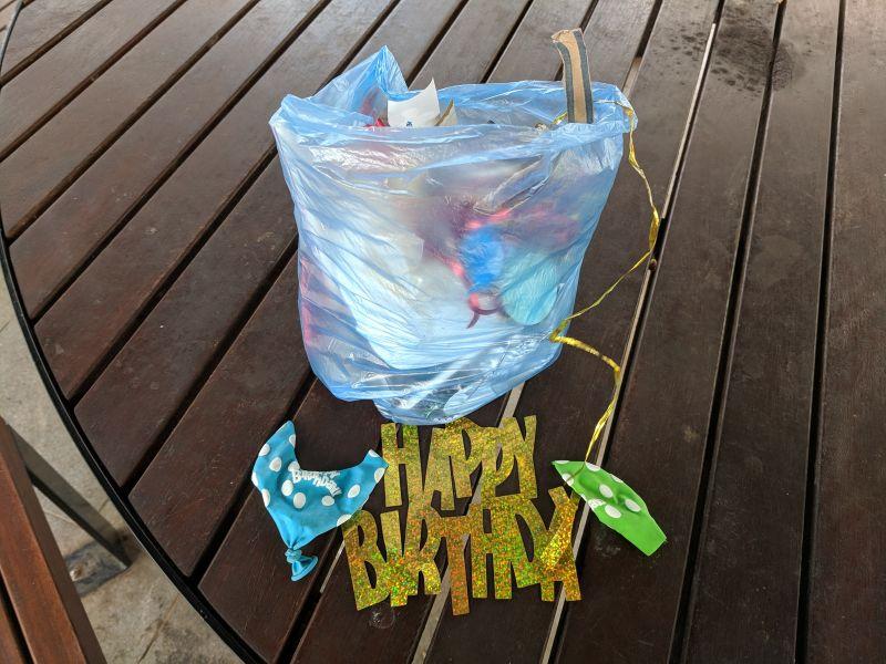 Strathfield Park litter