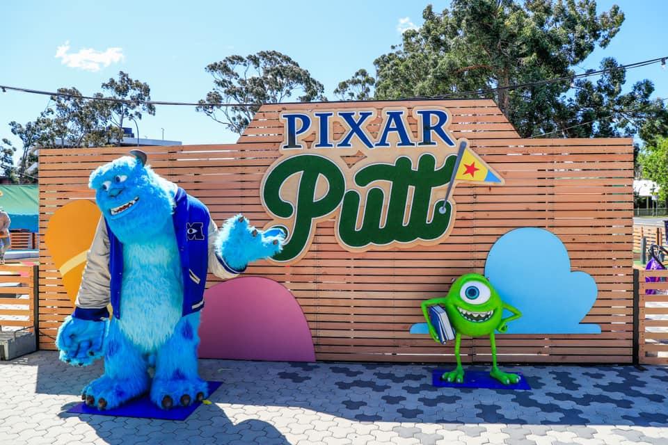 Parra News Launch Competition Pixar Putt Bankwest Staium