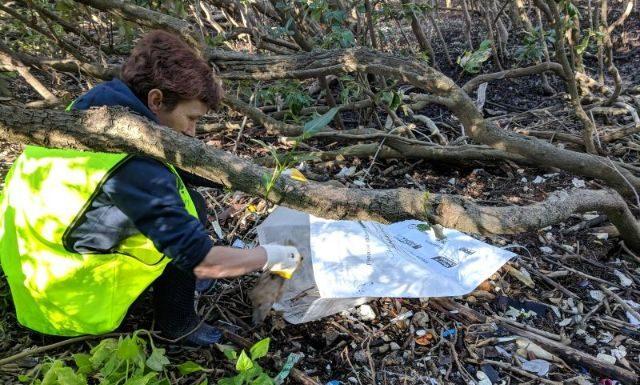George Kendall Riverside Park Litter Clean Up