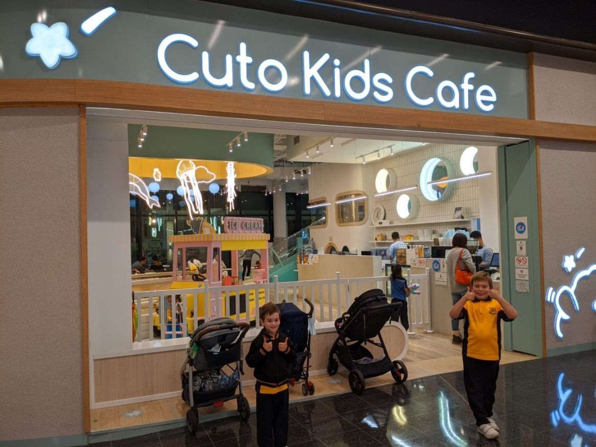 Cuto Kids Cafe Wentworth Point