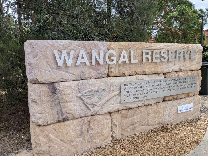Wangal Reserve Mortlake