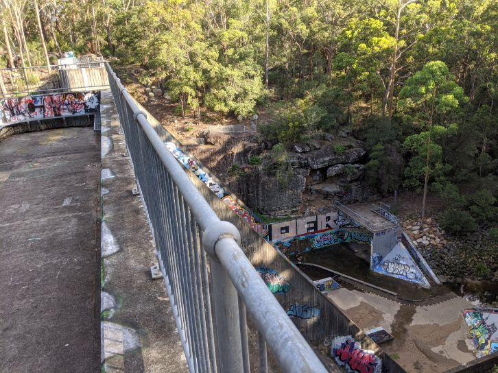 Echidna Loop Track North Rocks Dam Bidjigal Reserve