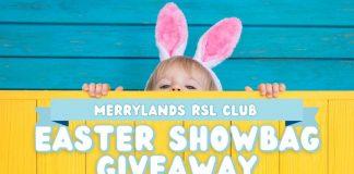 Merrylands RSL Easter Showbag Giveaway