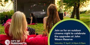 John Wearn Reserve Outdoor Cinema Night [SOLD OUT] | Carlingford @ John Wearn Reserve | Carlingford | New South Wales | Australia