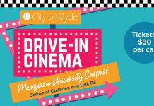 Drive-In Cinema Macquarie University Carpark