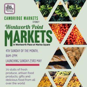Wentworth Point Markets | Marina Square @ Marina Square | Wentworth Point | New South Wales | Australia
