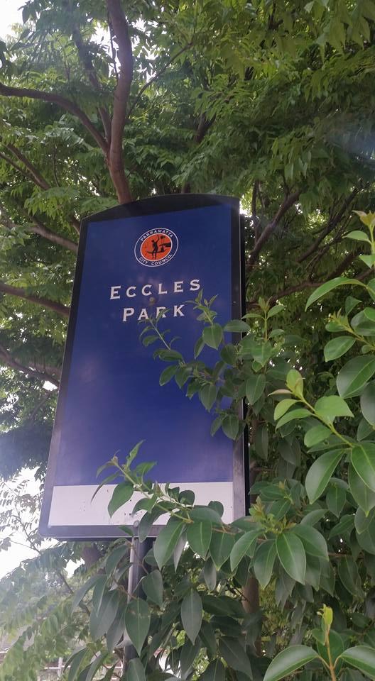 Eccles Park Ermington Sign
