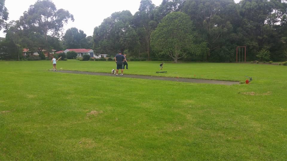Eccles Park Ermington Cricket