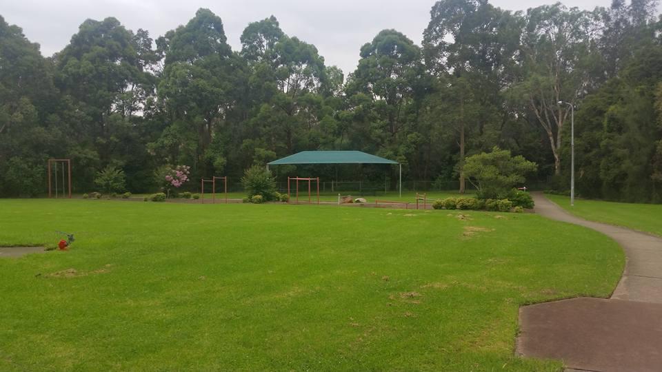 Eccles Park Ermington Shelter