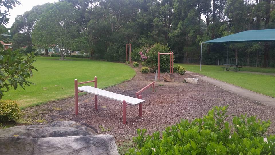 Eccles Park Ermington Exercise