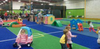 Sportsbliss soft play main area