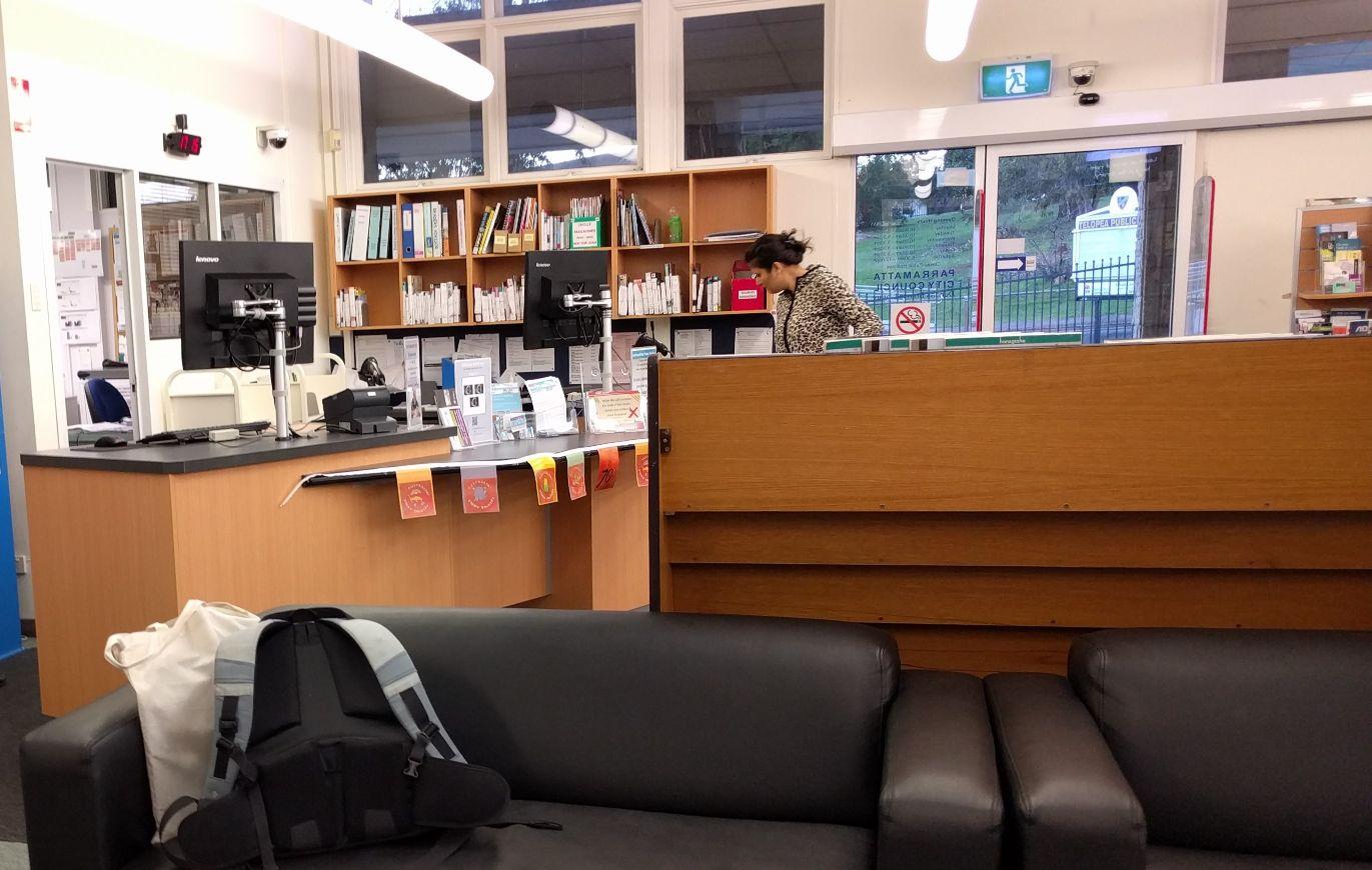 Dundas Library Telopea