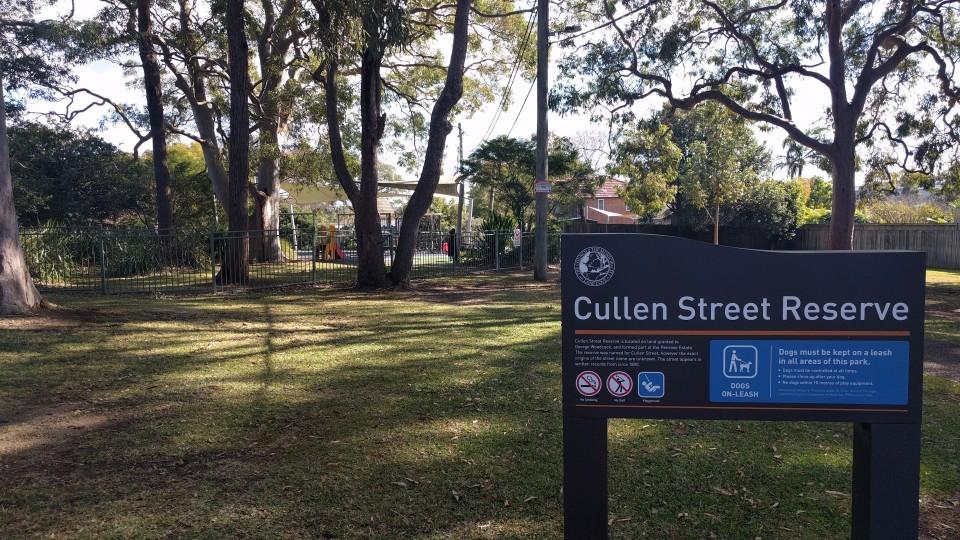 Cullen Street Reserve