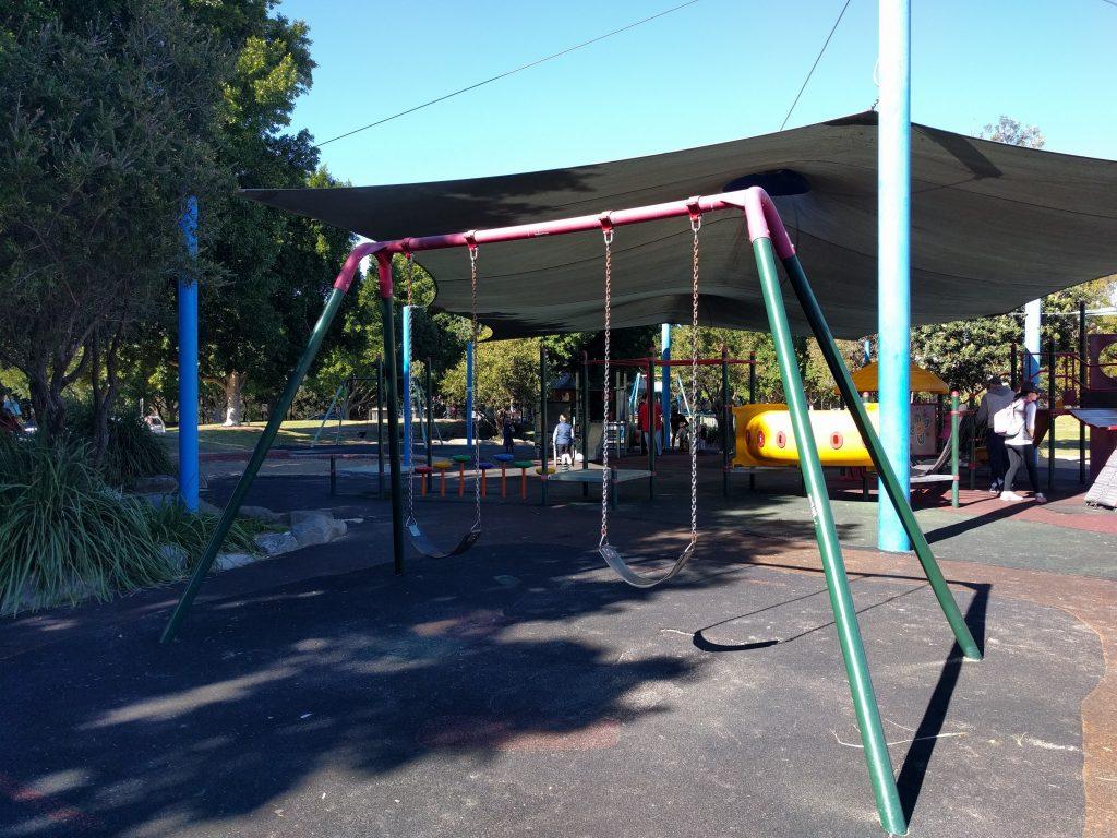 Bicentennial Park: Village Green Playground