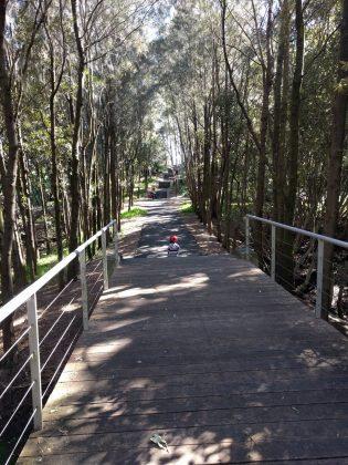 Bicentennial Park walk between playgrounds