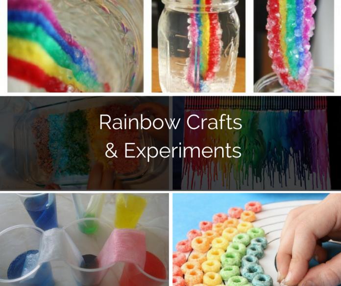 Rainbow Crafts & Experiments ParraParents
