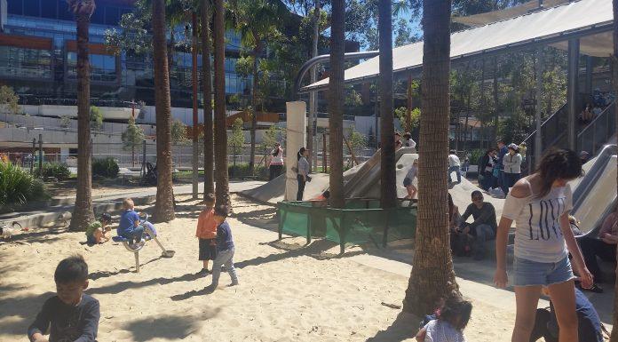 Sand Pit at Darling Quarter