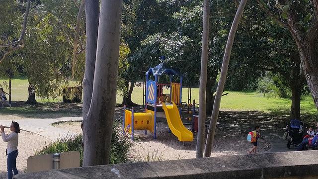 Small Playground at Putney Park