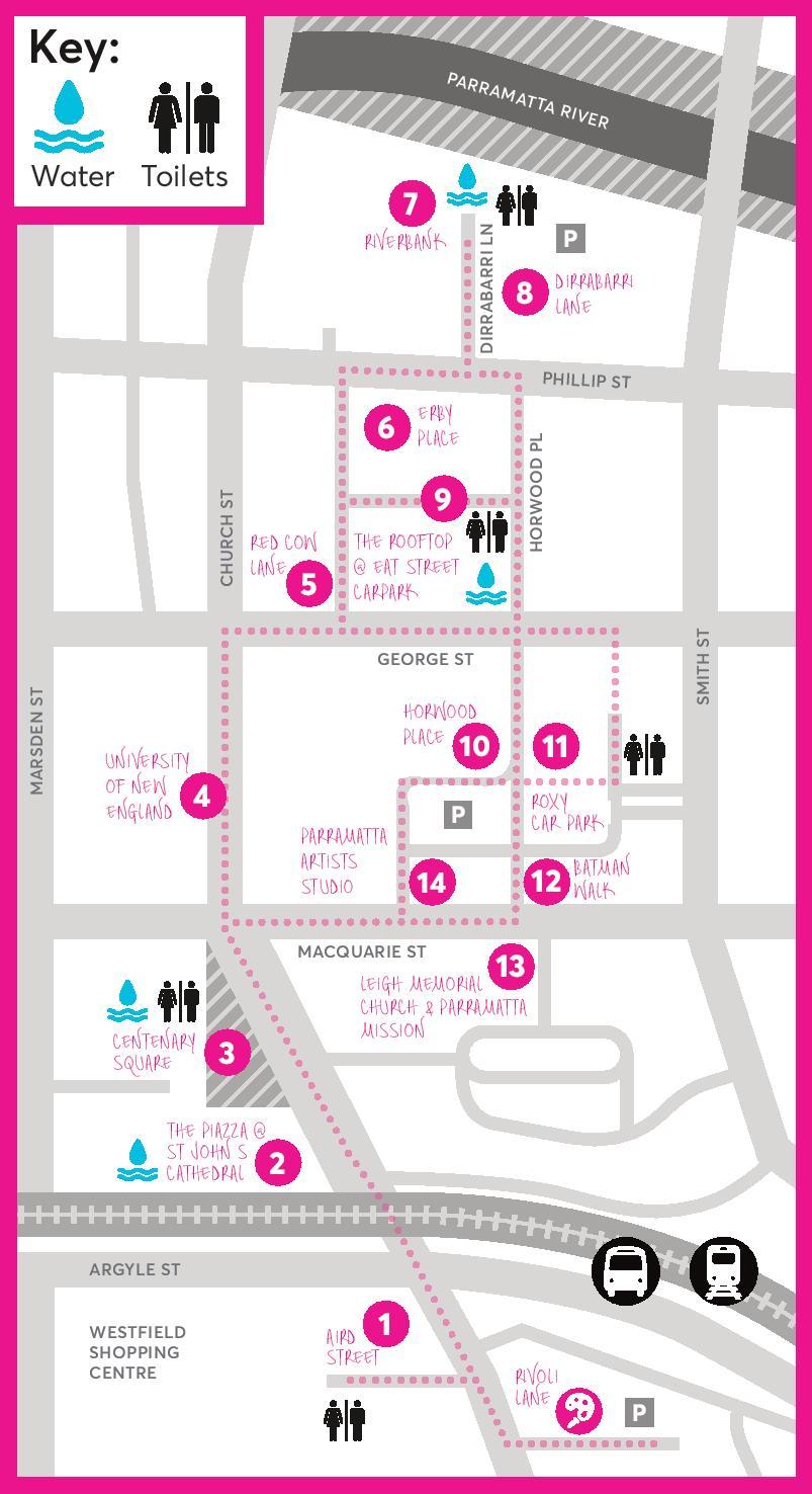 Parramatta Lanes Guide Little Laners