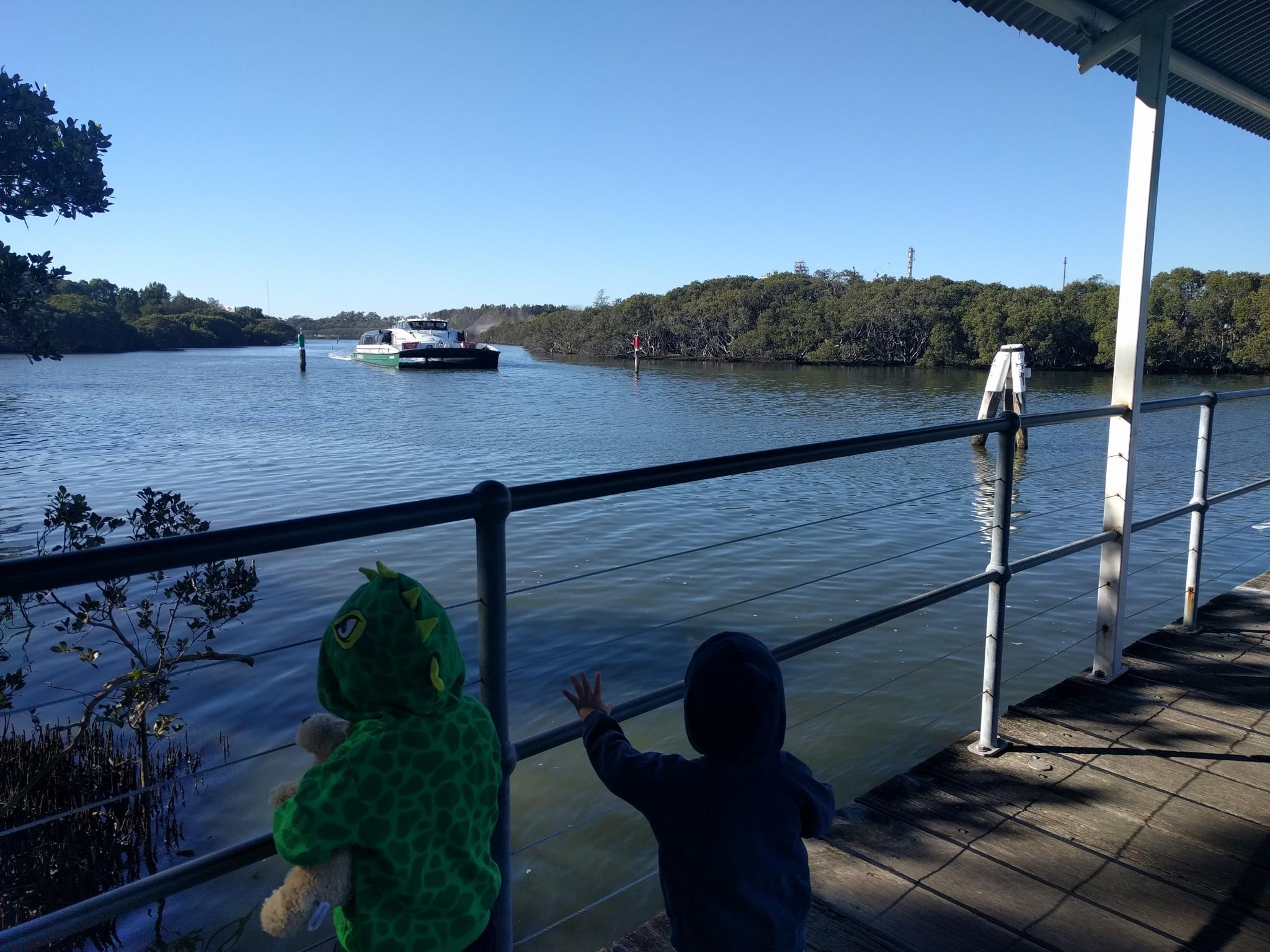Ferry adventures with kids parramatta river