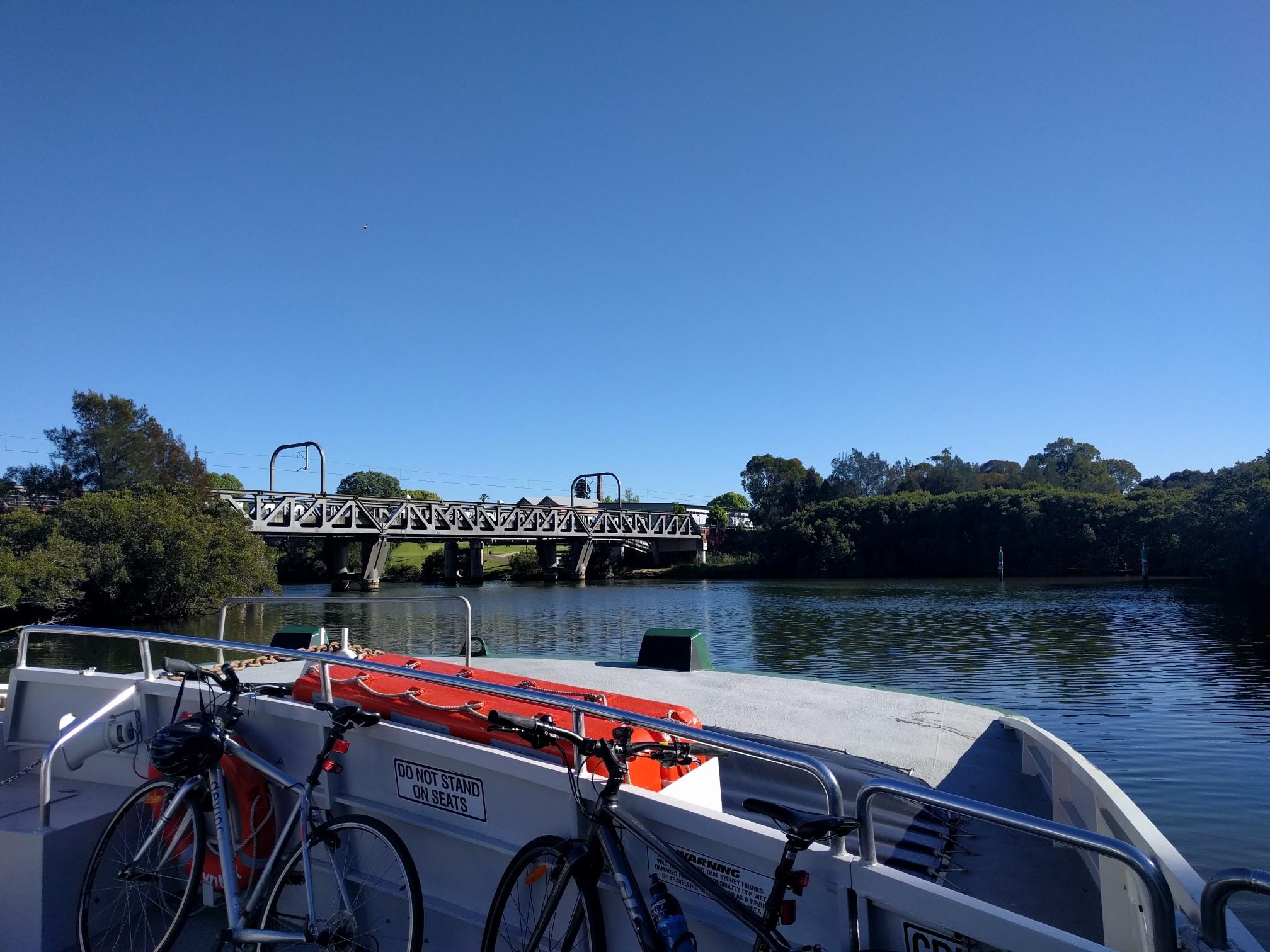 Parramatta Ferry adventures