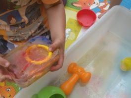 Fun Ice Activities frozen toy treasure hunt