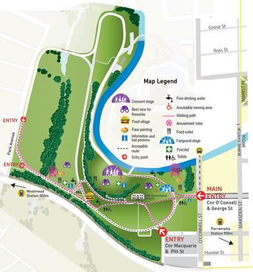 Parramatta Park Map Parramatta Park Map | compressportnederland Parramatta Park Map