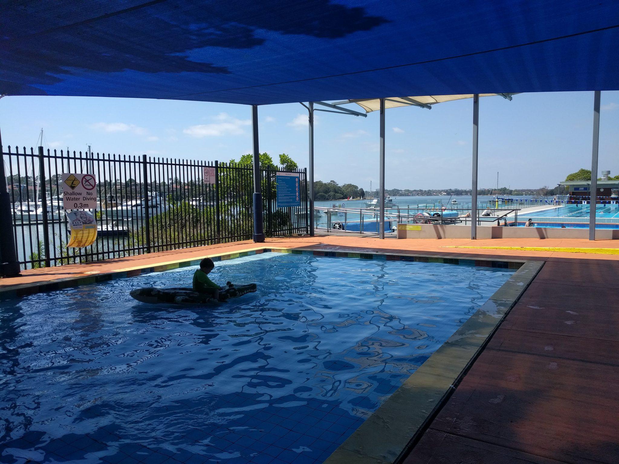 Kid Friendly Local Swimming Pool