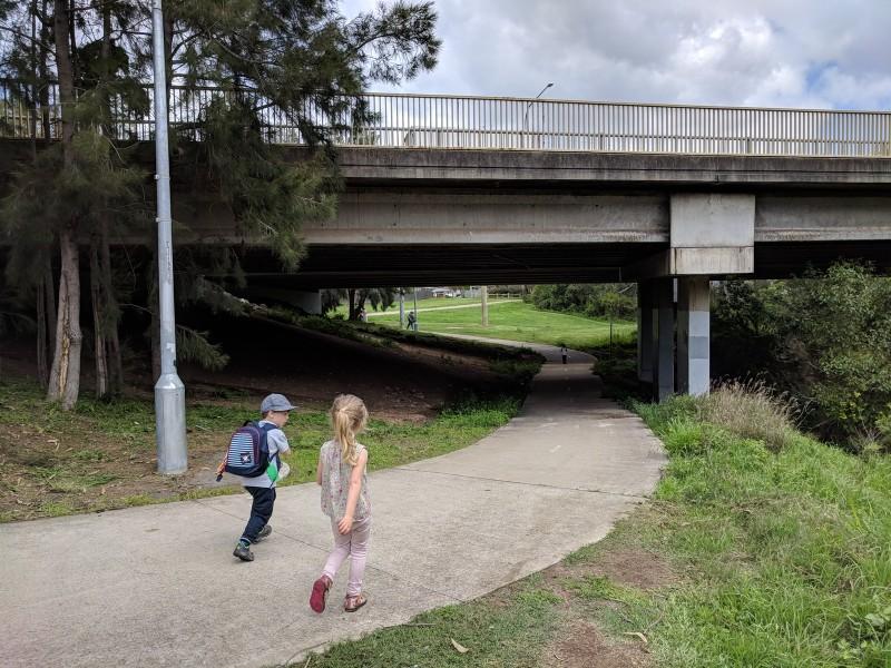 bushwalking with kids