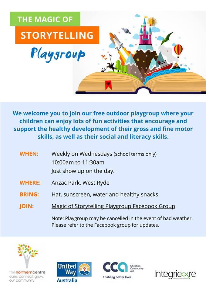 Magic of Storytelling Playgroup