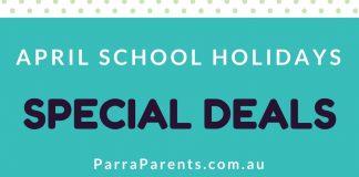 April School Holiday Specials