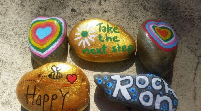 Parramatta Rocks Painted Rocks Hide and Seek