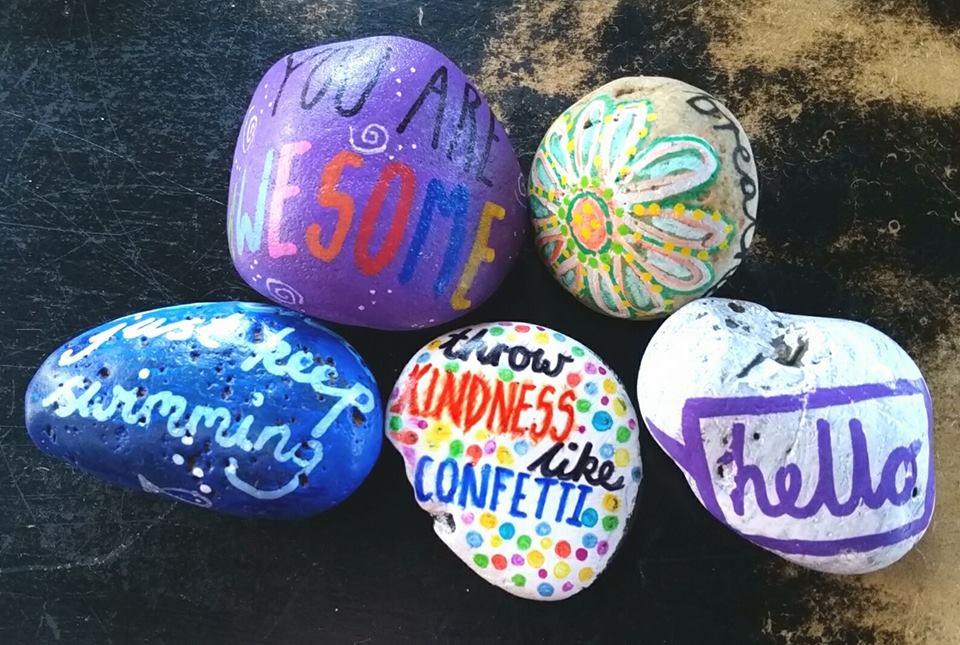Kindness Rocks Painted Rocks