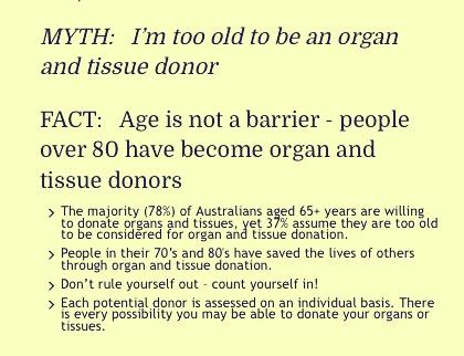 Organ Donor DonateLife Week