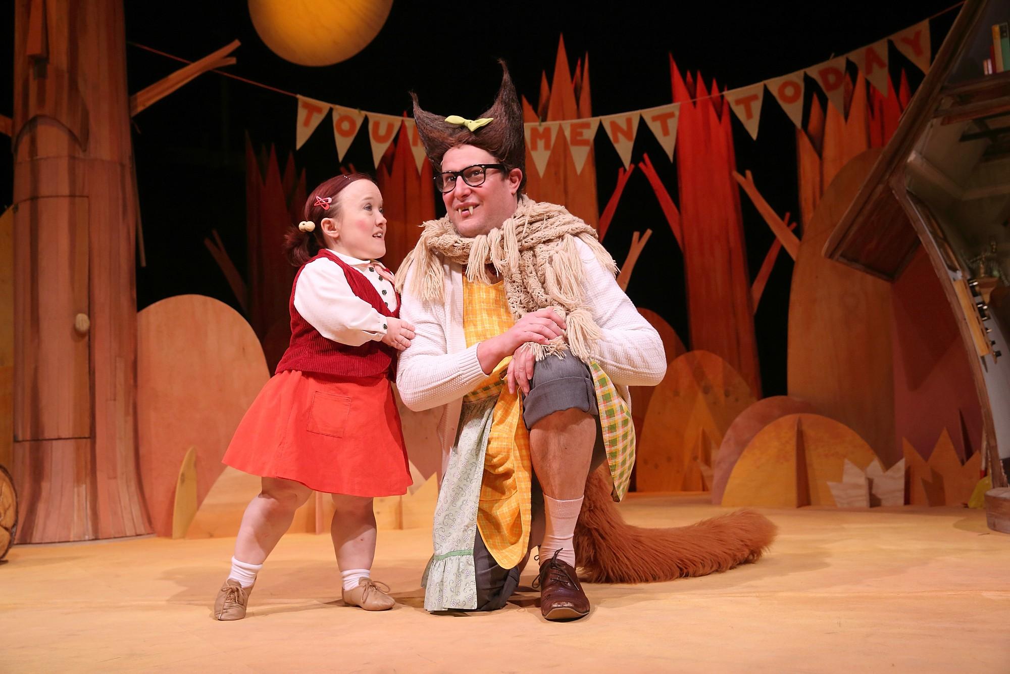 Big Bad Wolf Spot on Festival Riverside Theatres
